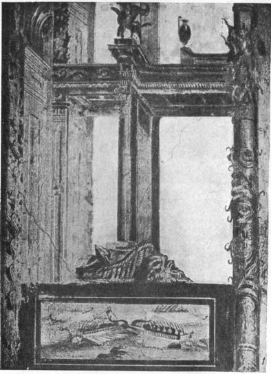 Роспись четвертого стиля в доме