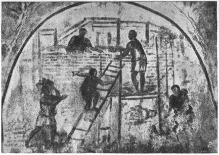 Стенная живопись из гробницы iii в н э