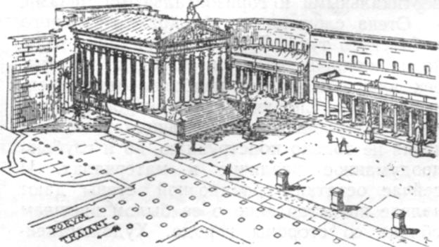 Форум Августа, реконструкция