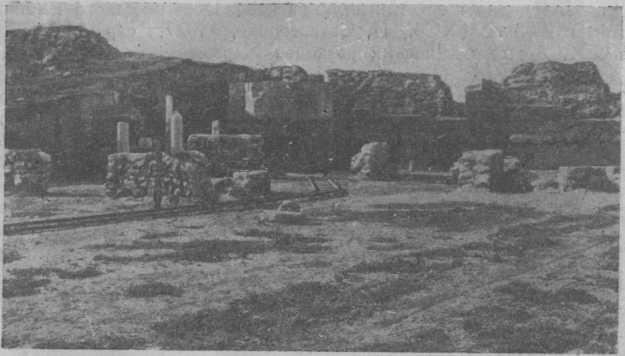 Юго-восточная часть города. Раскопки 1907 г.