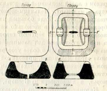 Ручная мельница-зернотерка. IV в. до н. э.