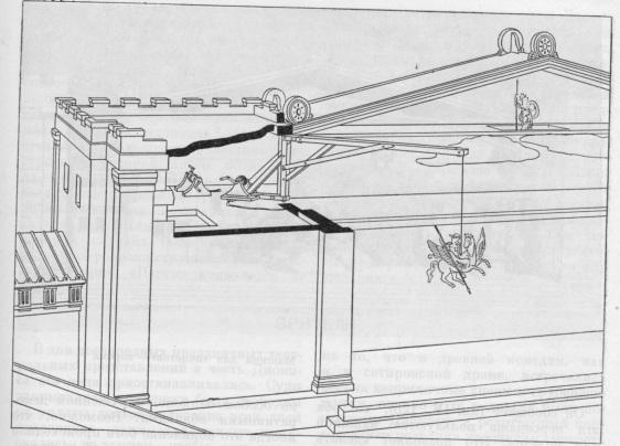 Схема театральных машин