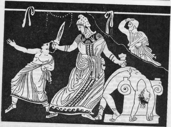 an analysis of the theme and characters in medea by euripides