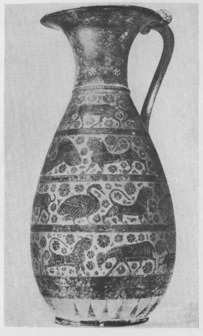 Коринфская ваза конец 7 — начало 6 в