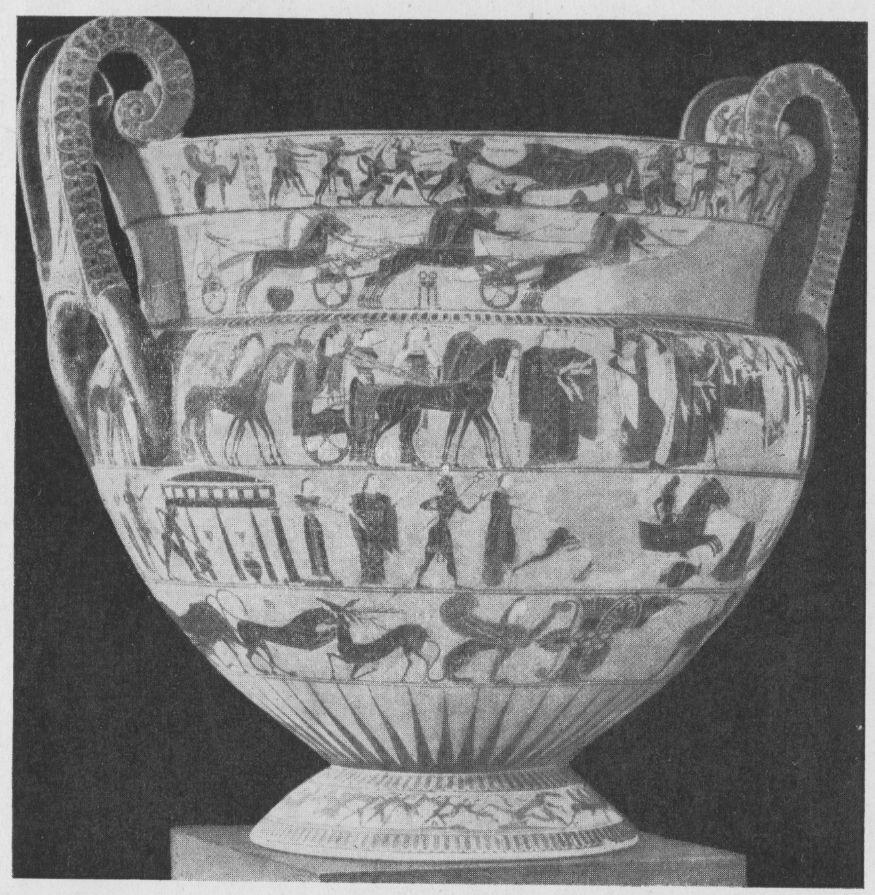 Кратер клития и эрготима ваза франсуа
