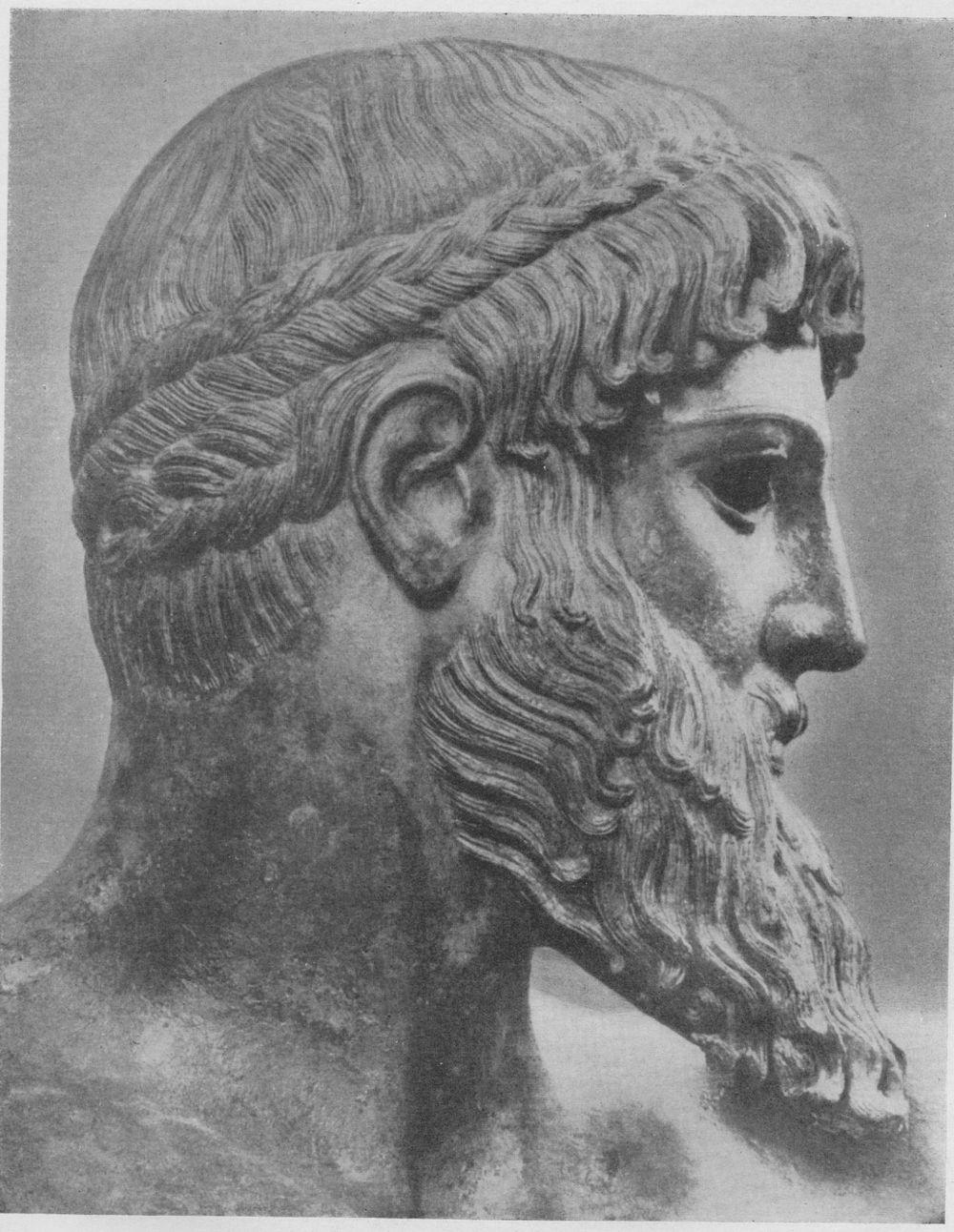 Голова искусство древней греции