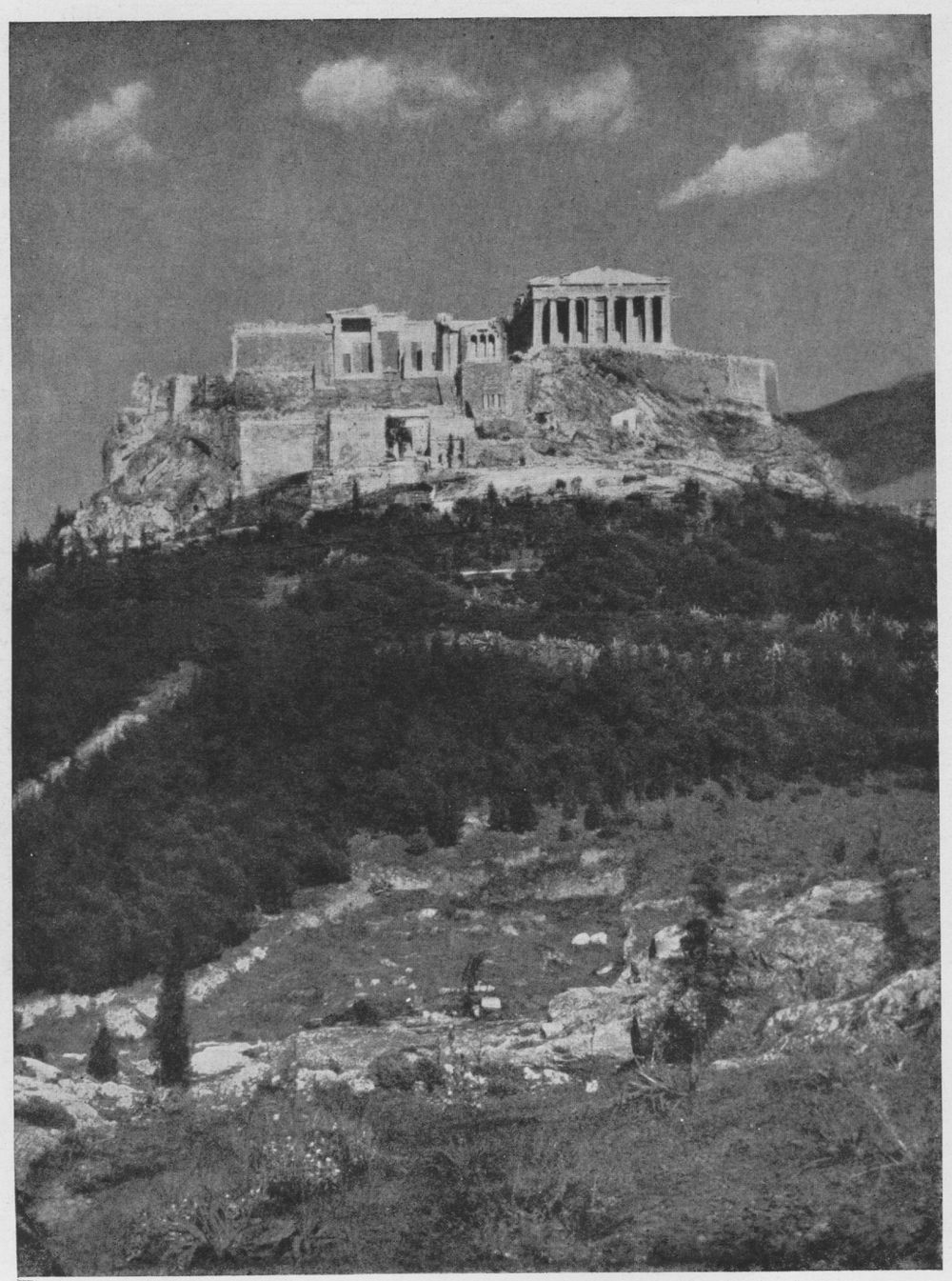 С запада искусство древней греции