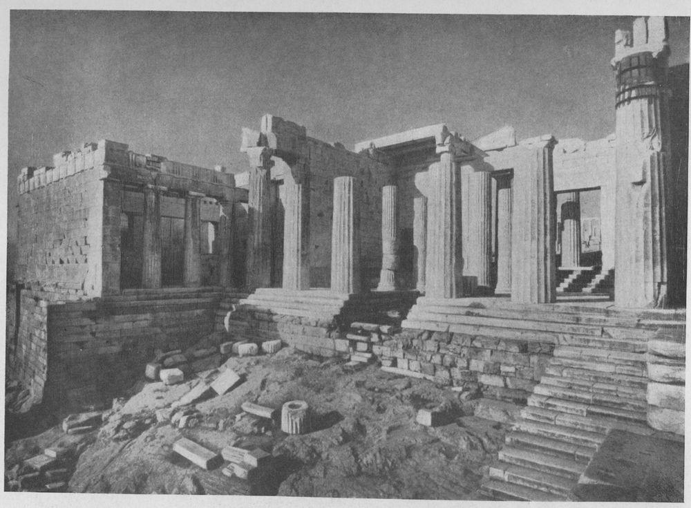 Мнесикл пропилеи афинского акрополя