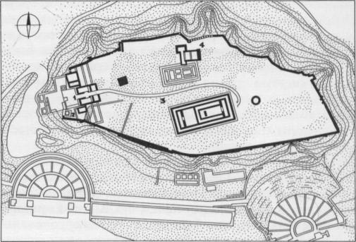 Афинский Акрополь. V в. до н.