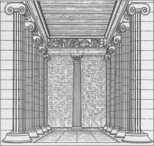 Храм Аполлона я Бассах. Около