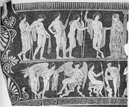 рисунки древней греции: