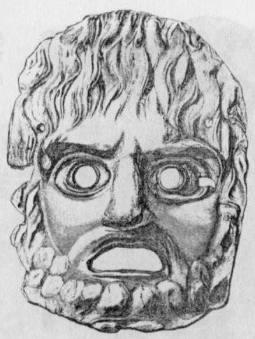 Трагические древнегреческие маски