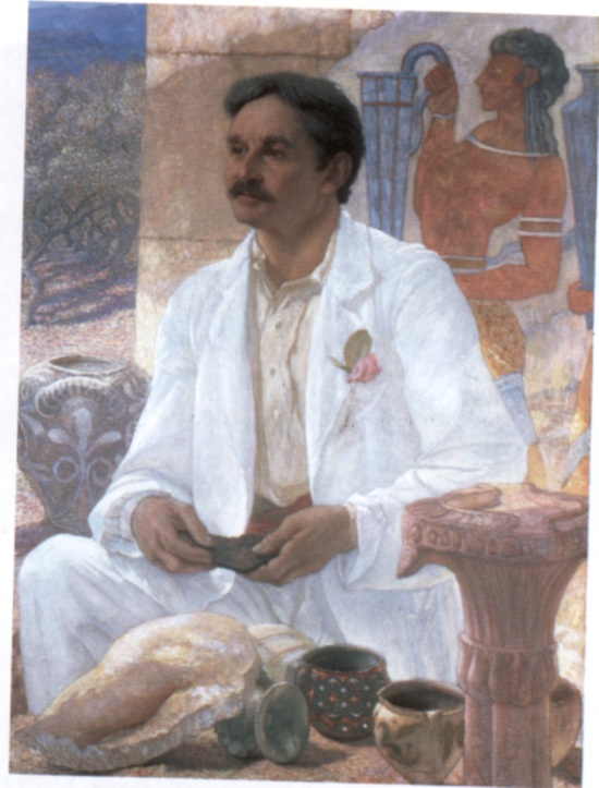 Артур эванс в 1907 г портрет работы сэра