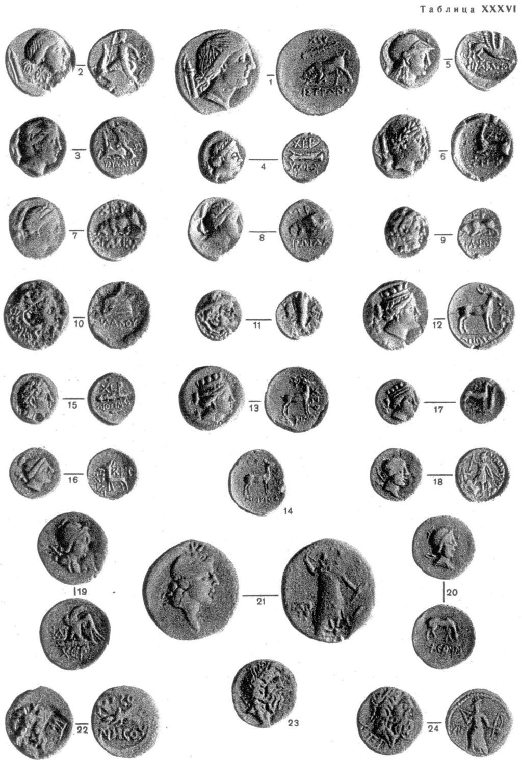 Монеты херсонеса каталог монет ссср рубли